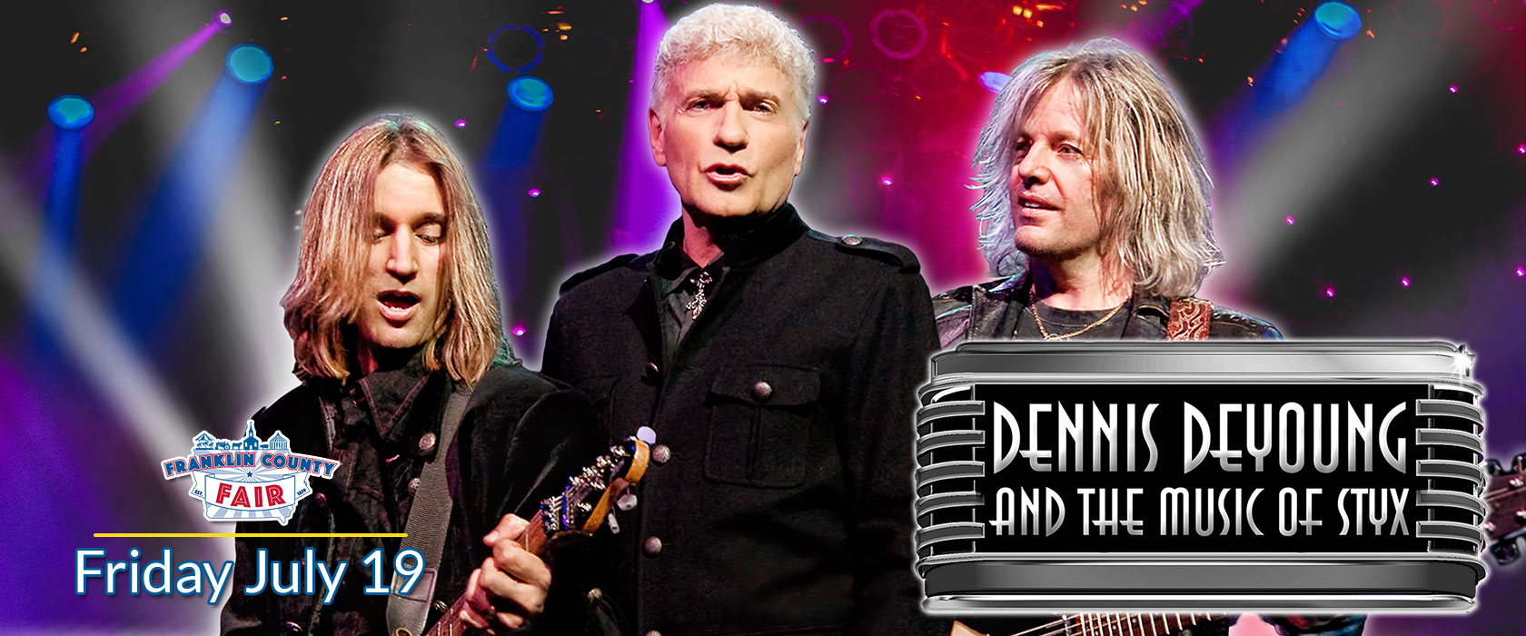 Franklin County Fair Dennis DeYoung - Friday July 19