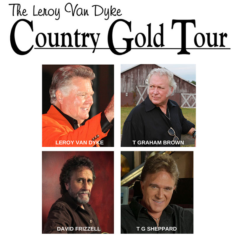 Leroy Van Dyke Country Gold Tour Grandstand Event