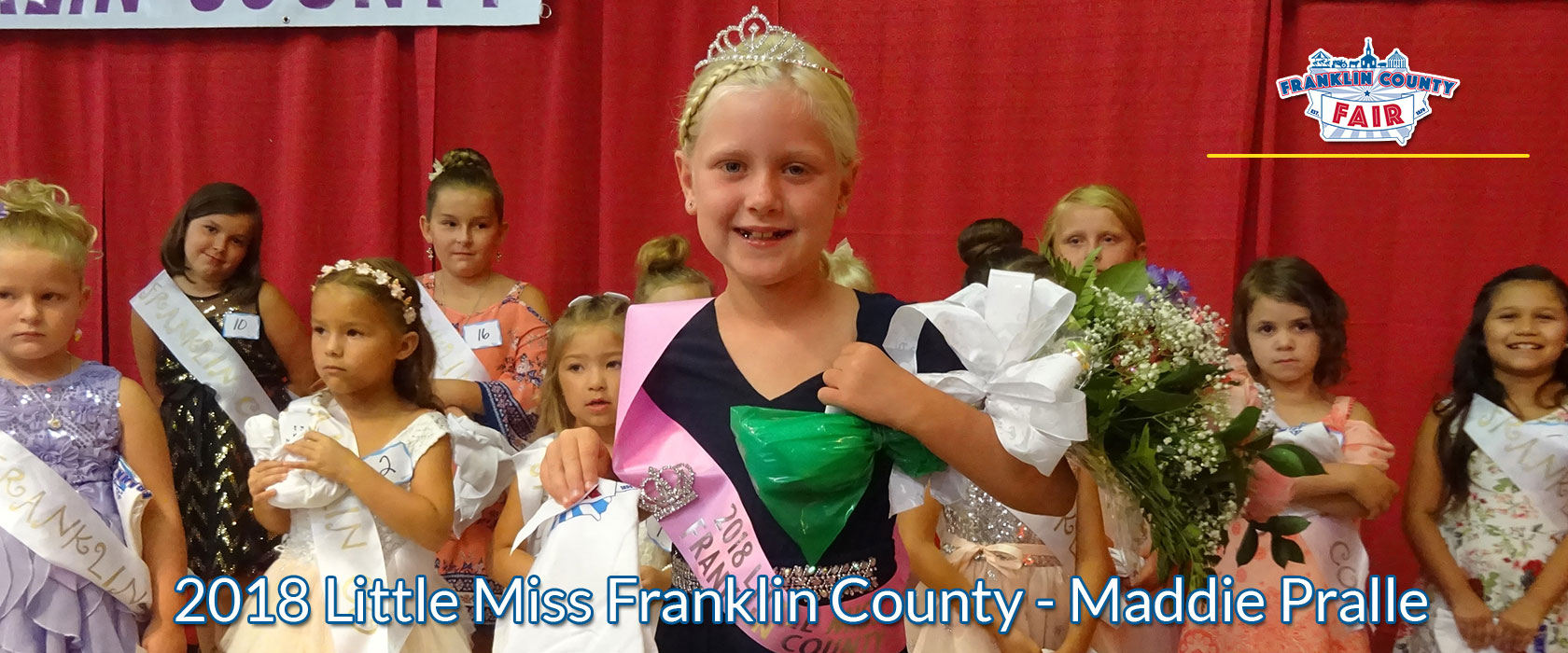 2018 Franklin County Fair Little Miss