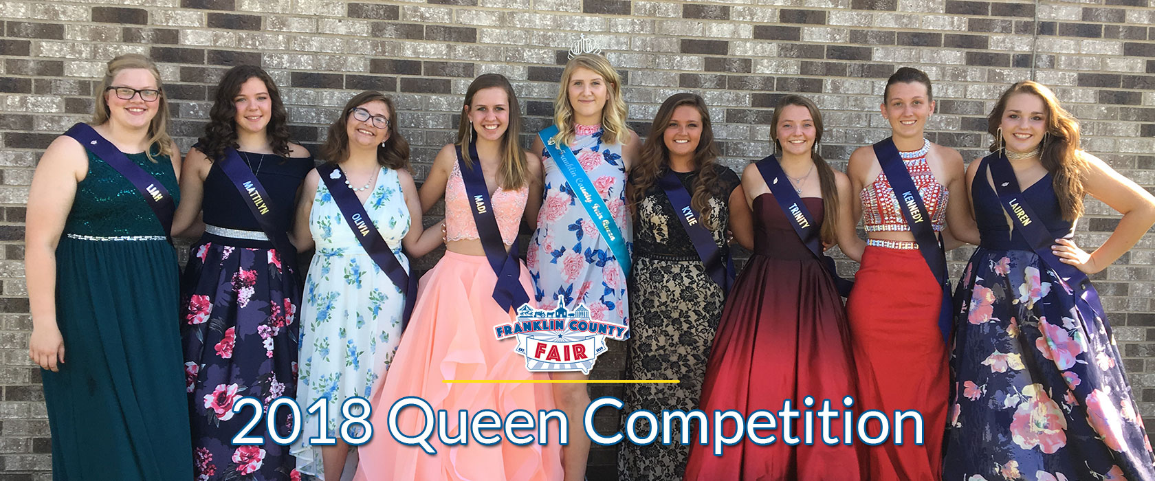 Franklin County Fair Queen Court