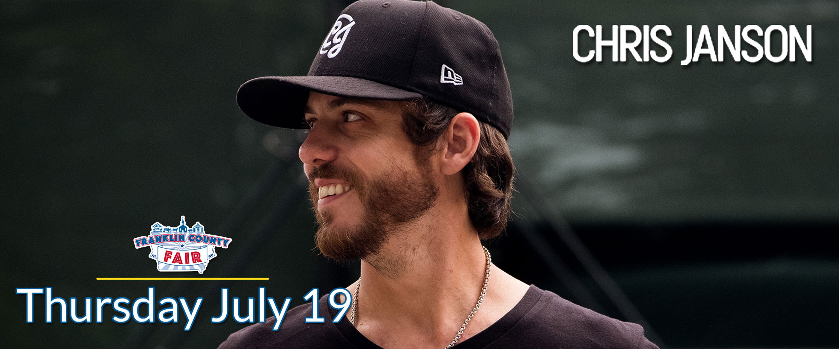 Franklin County Fair Chris Janson - Thursday July 19