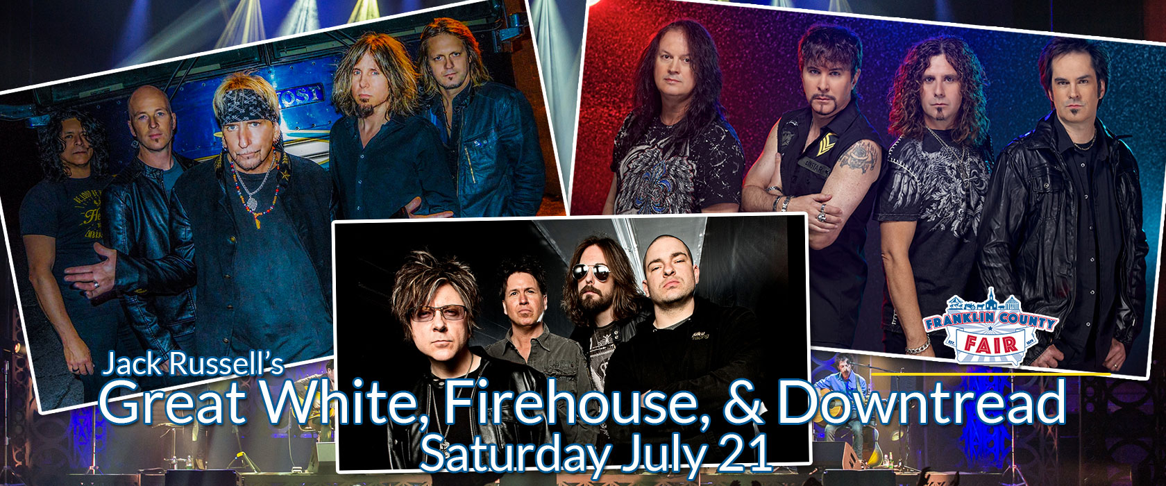 Great White and Firehouse Slide Image